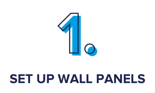 Step 1. Set Up Wall Panels